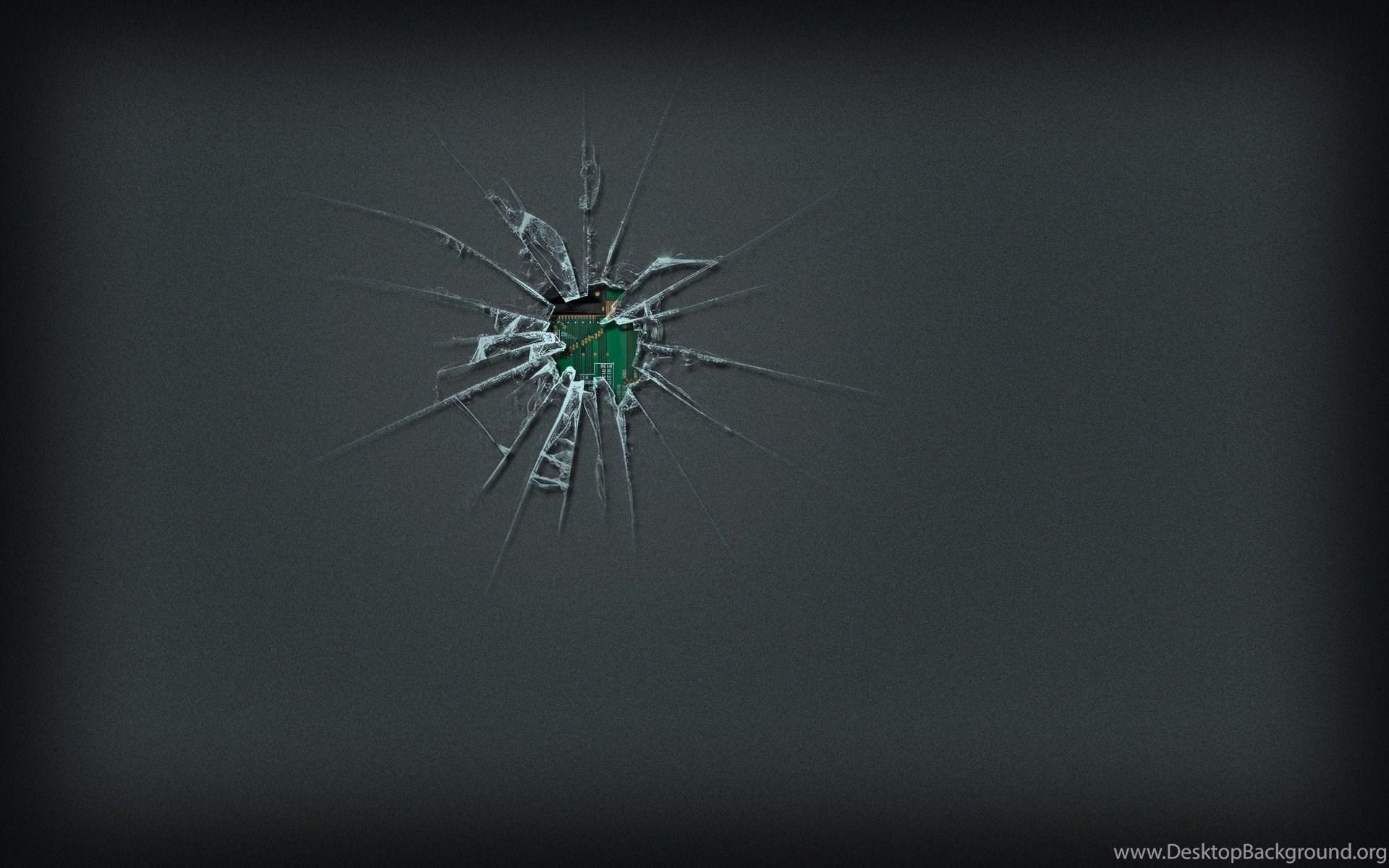 cracked screen wallpaper hd desktop