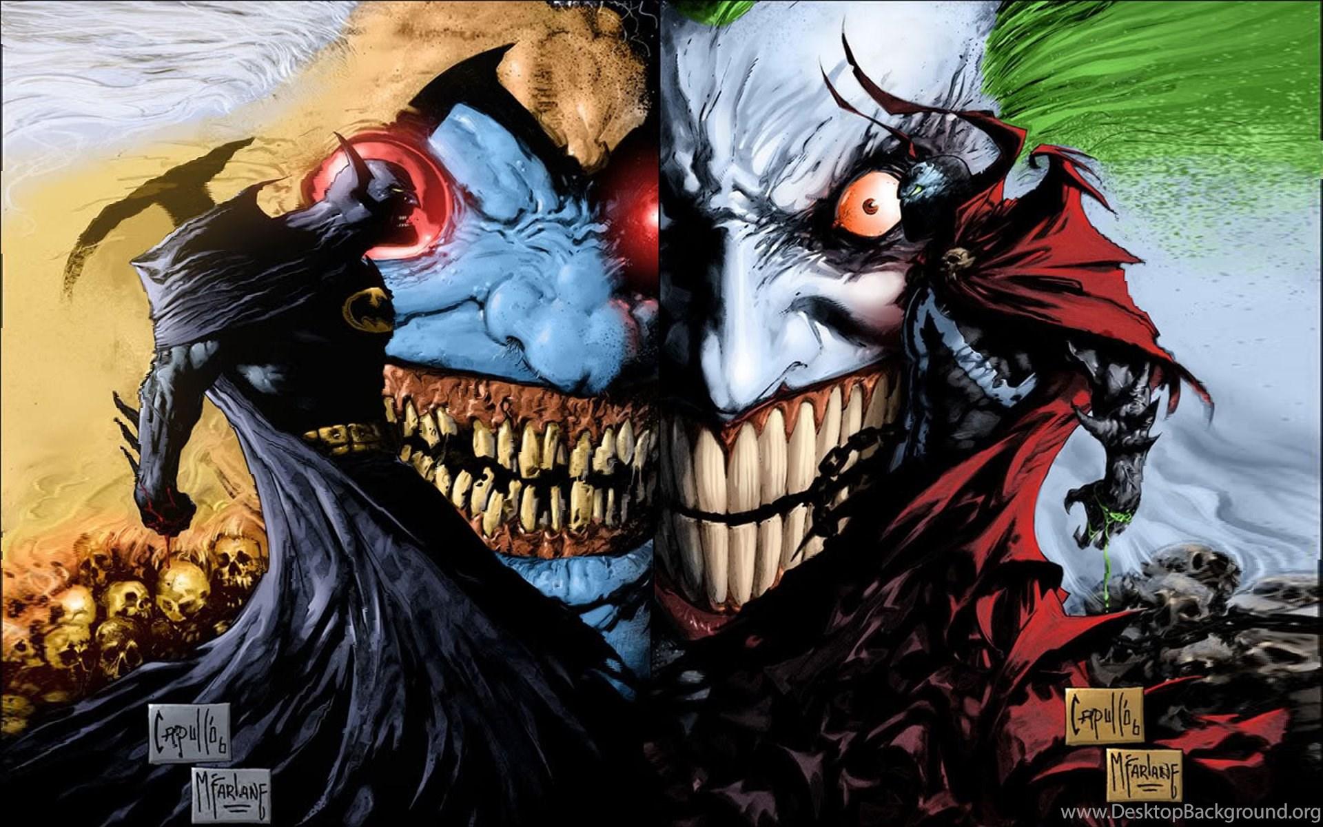 Joker Comic Wallpapers Desktop Background