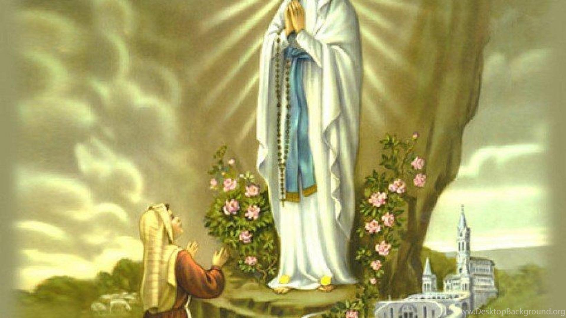 Wallpaper Virgin Mary Christ Christianity Goddess Glory Our