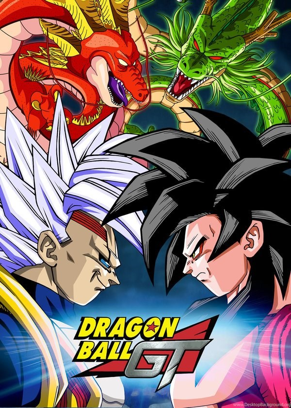 Poster Dragon Ball Gt Baby Vegeta Vs Goku By Dony910 On Deviantart Desktop Background