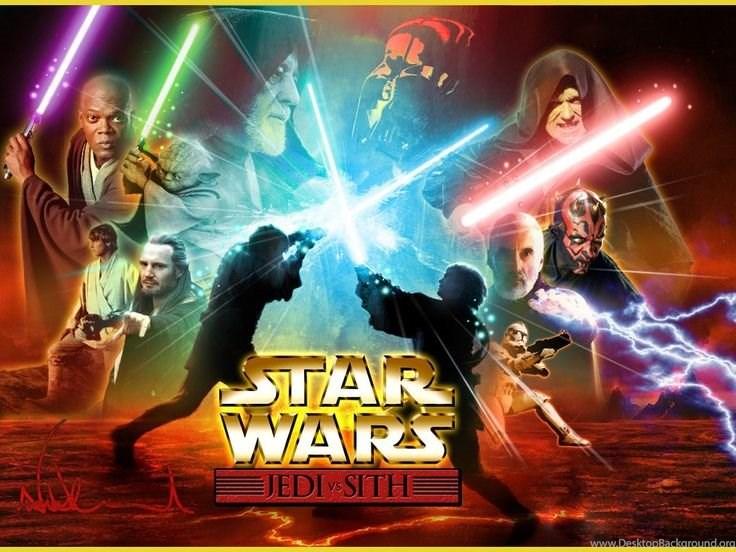 Star Wars Wallpaper Jedi Vs Sith Desktop Background