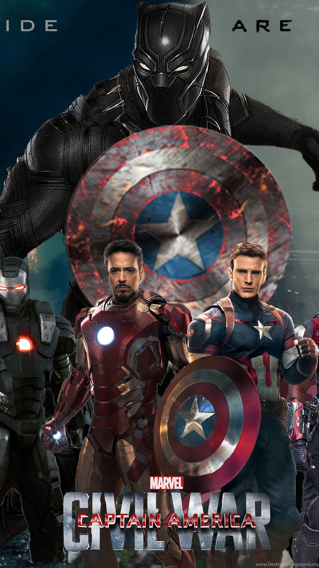 Captain America Civil War HD Wallpapers For IPhone Apple Lives