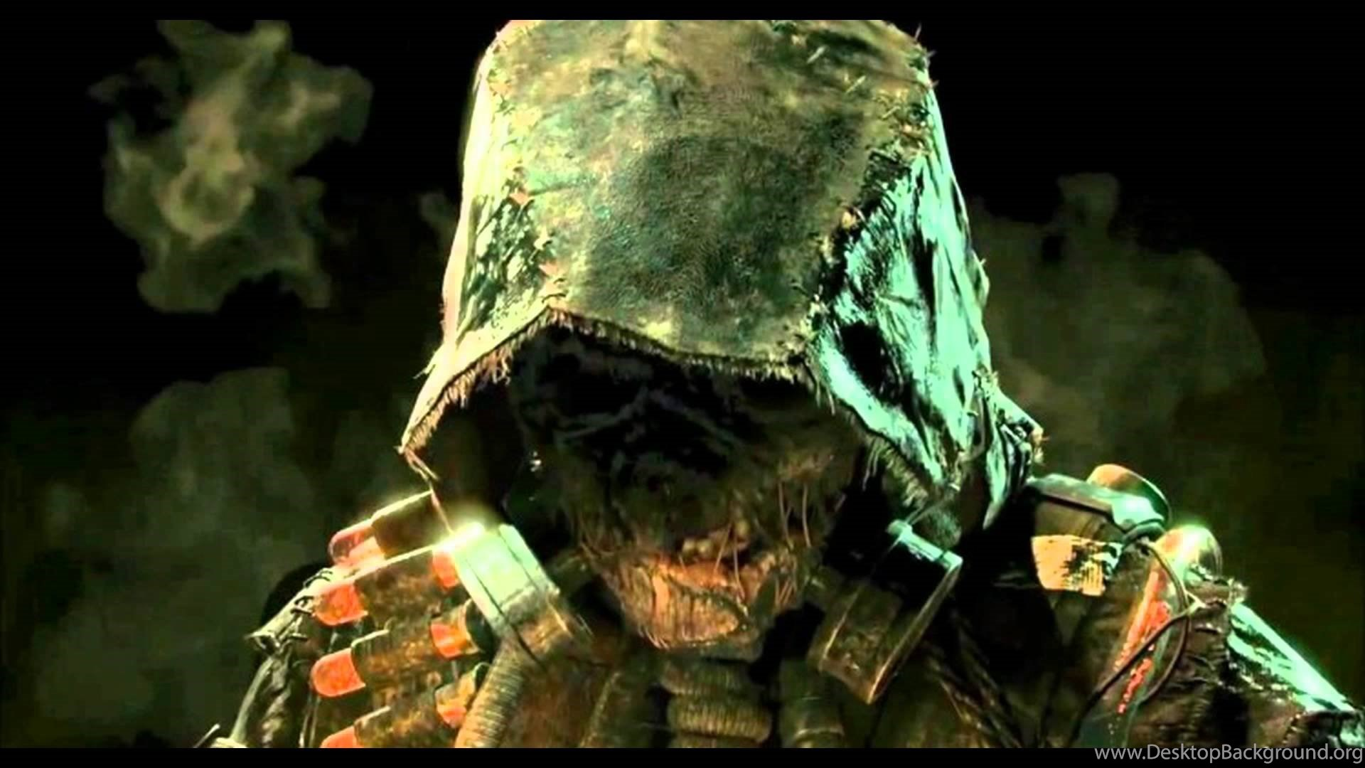 Games Wallpaper Scarecrow Arkham HD Wallpapers For Desktop From