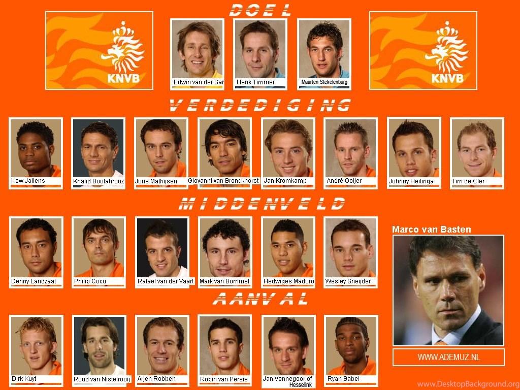 Wallpapers Nederland Football Team Nederlands Elftal Kompleet Jpg Desktop Background