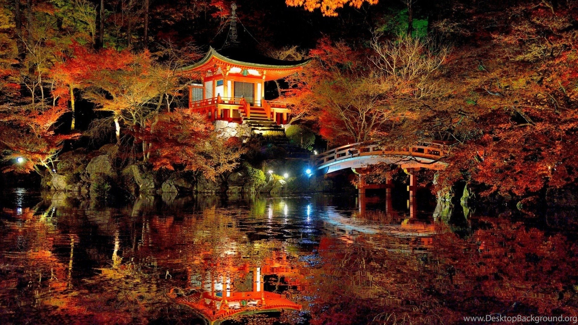 scenery lovely japanese garden landscape cool wallpapers