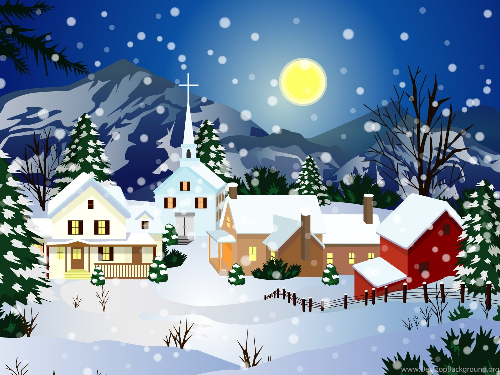 merry christmas hd wallpapers desktop background