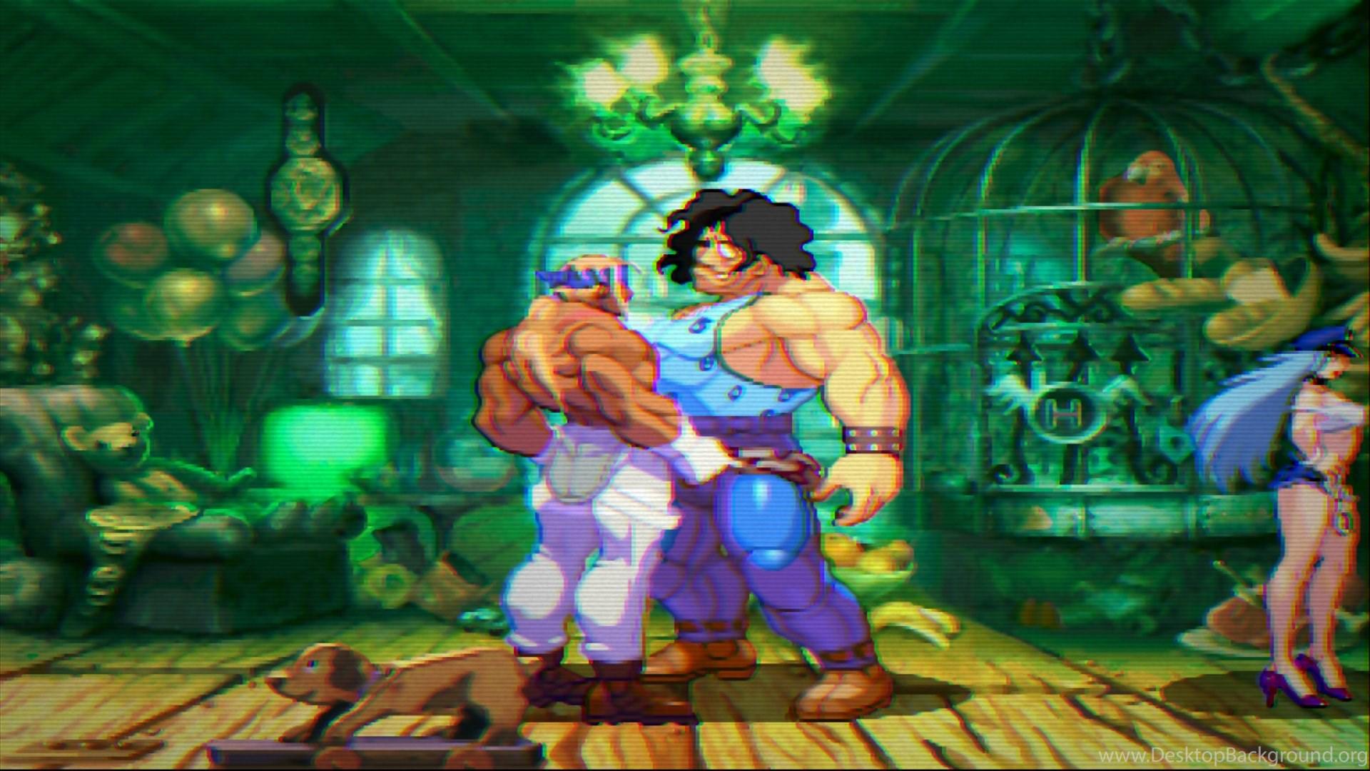 Street Fighter Iii Third Strike Online Edition Desktop Background