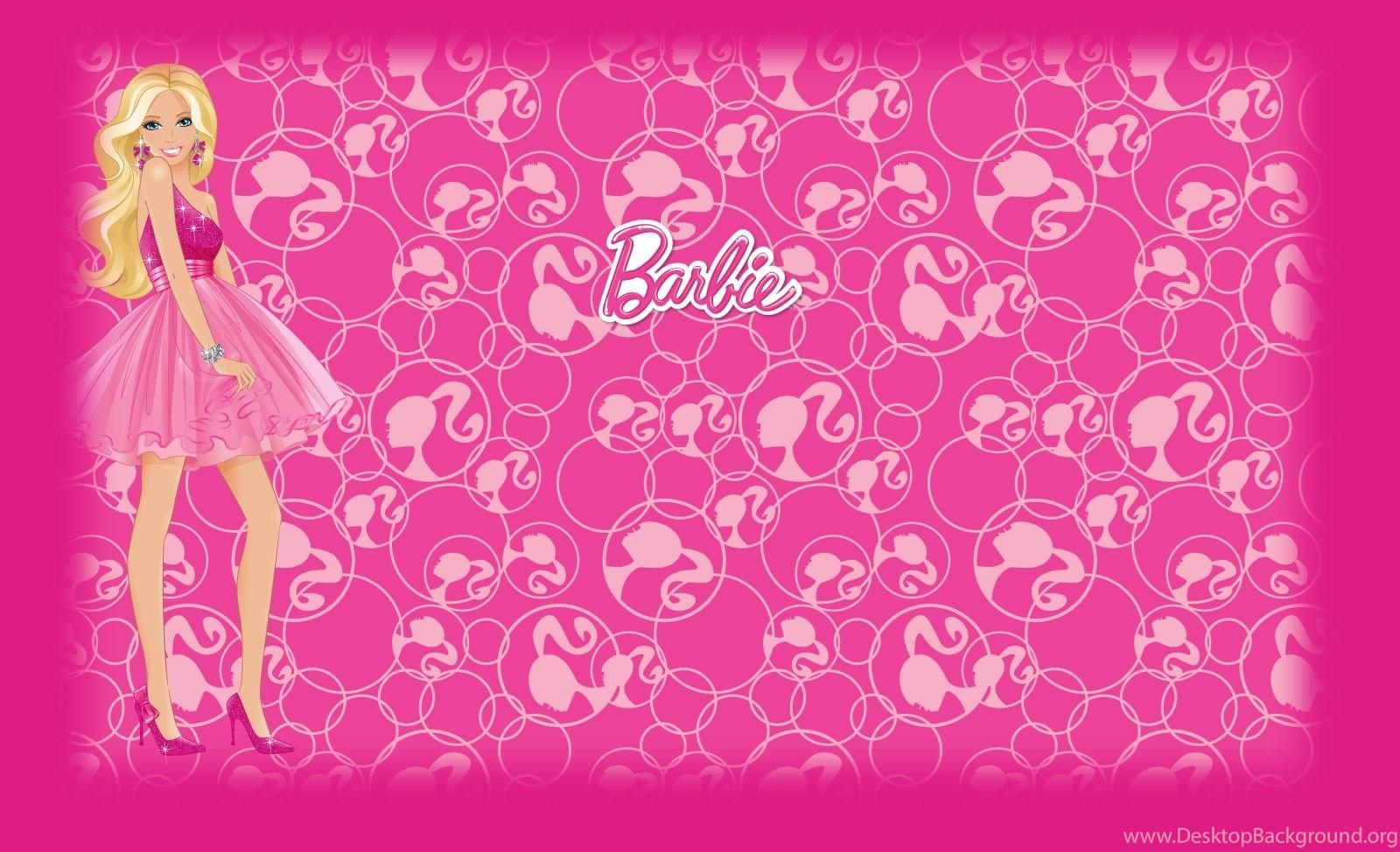 barbie pink backgrounds wallpapers cave desktop background