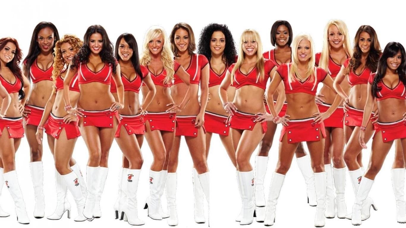 Photos of sexy cheerleaders of football