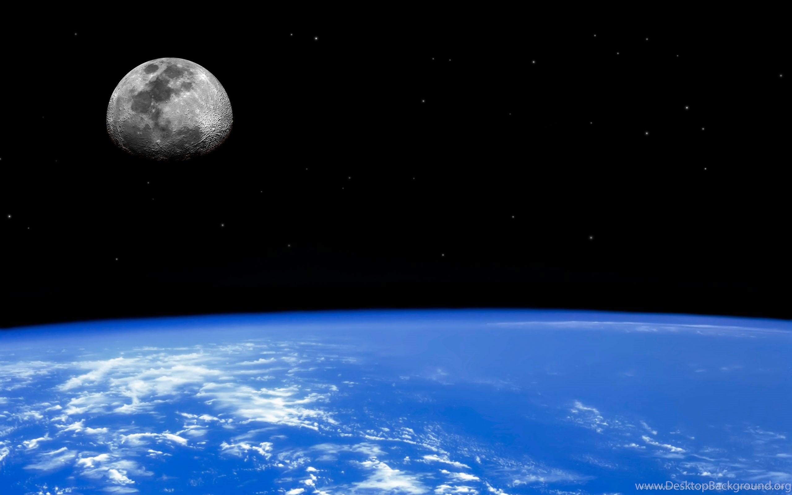 Real Images Of The Earth From Space Wallpapers Desktop Background