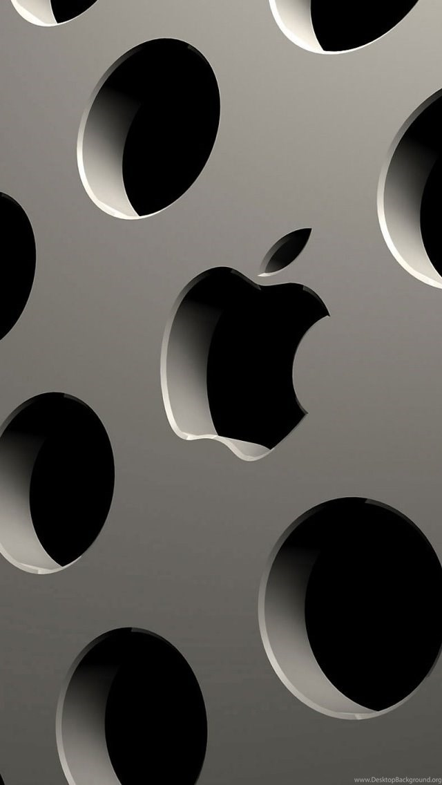 Apple Logo Carving Iphone 5 Wallpapers Ipod Wallpapers Hd Free Desktop Background