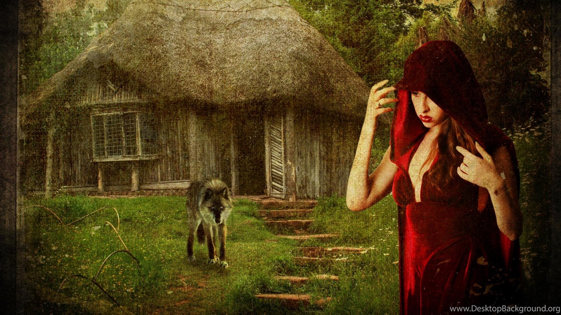 Little Red Riding Hood Wallpapers Desktop Background