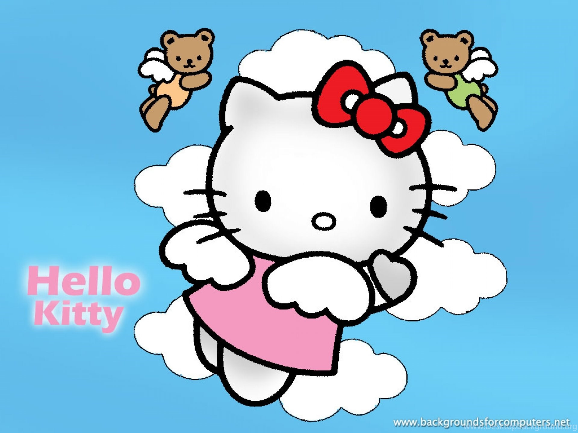 Fonds D écran Hello Kitty Tous Les Wallpapers Hello Kitty