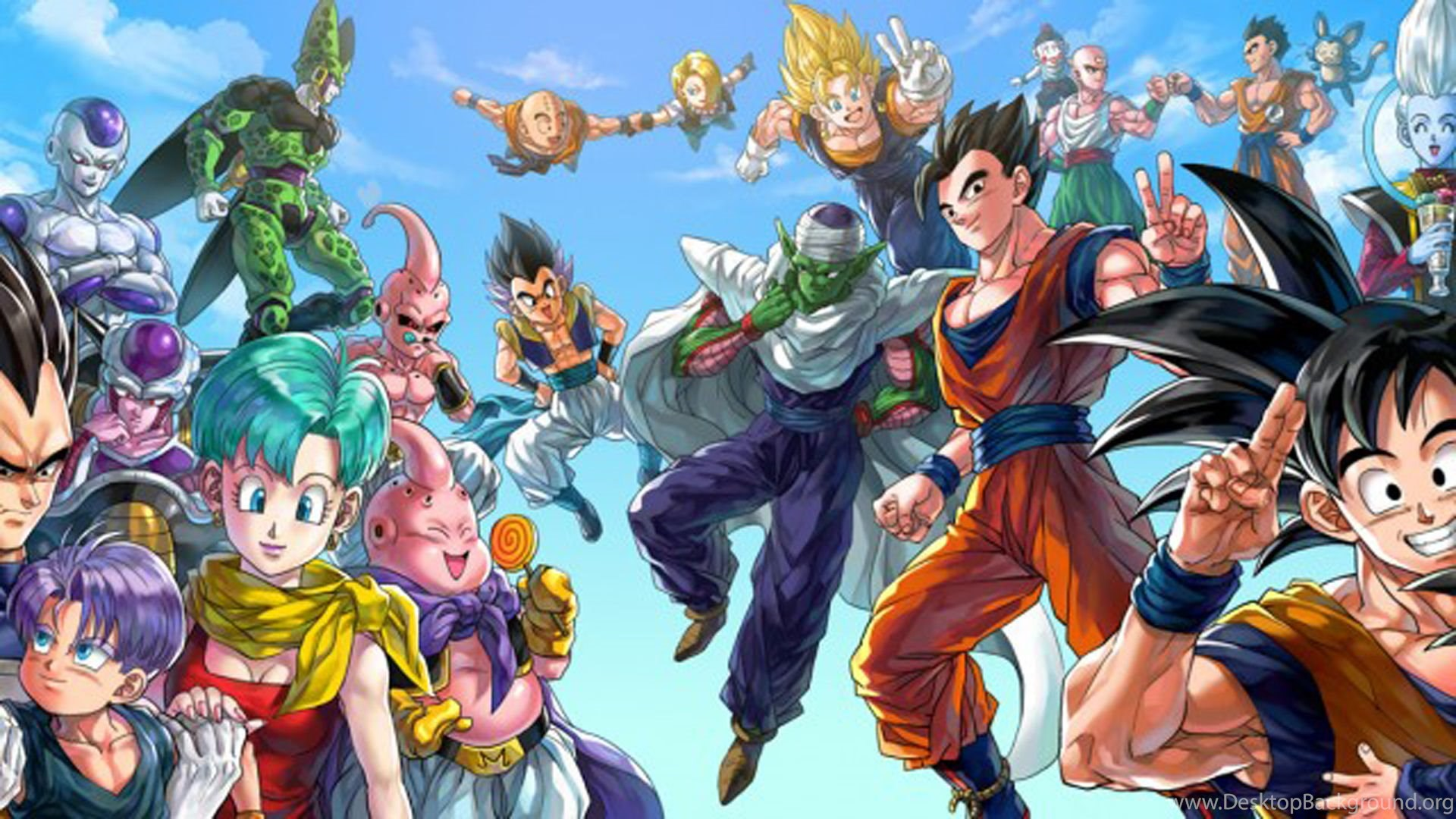 10 quality dragon ball z wallpapers anime manga desktop - Dragon ball z 4 ...
