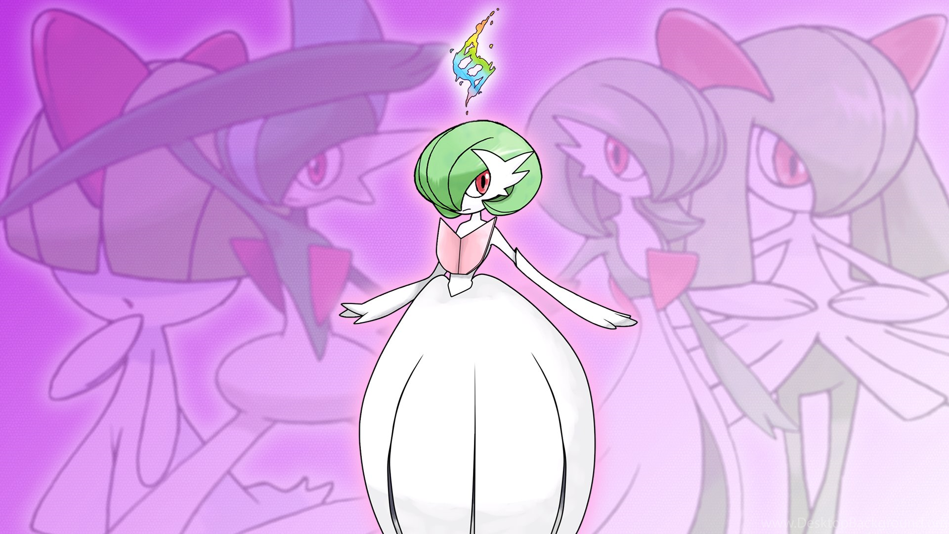 Shiny Mega Gardevoir Wallpaper: Shiny Mega Gardevoir Wallpapers By Glench On DeviantArt