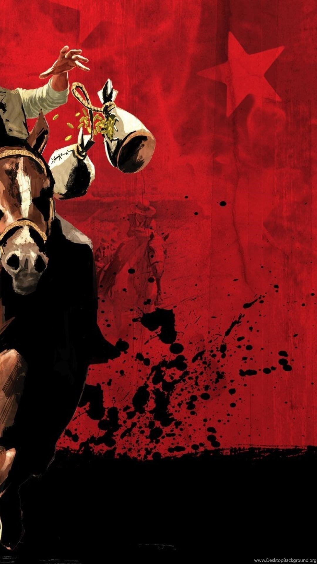 Auto Horses Red Dead Redemption Rockstar Iii Wallpapers Desktop