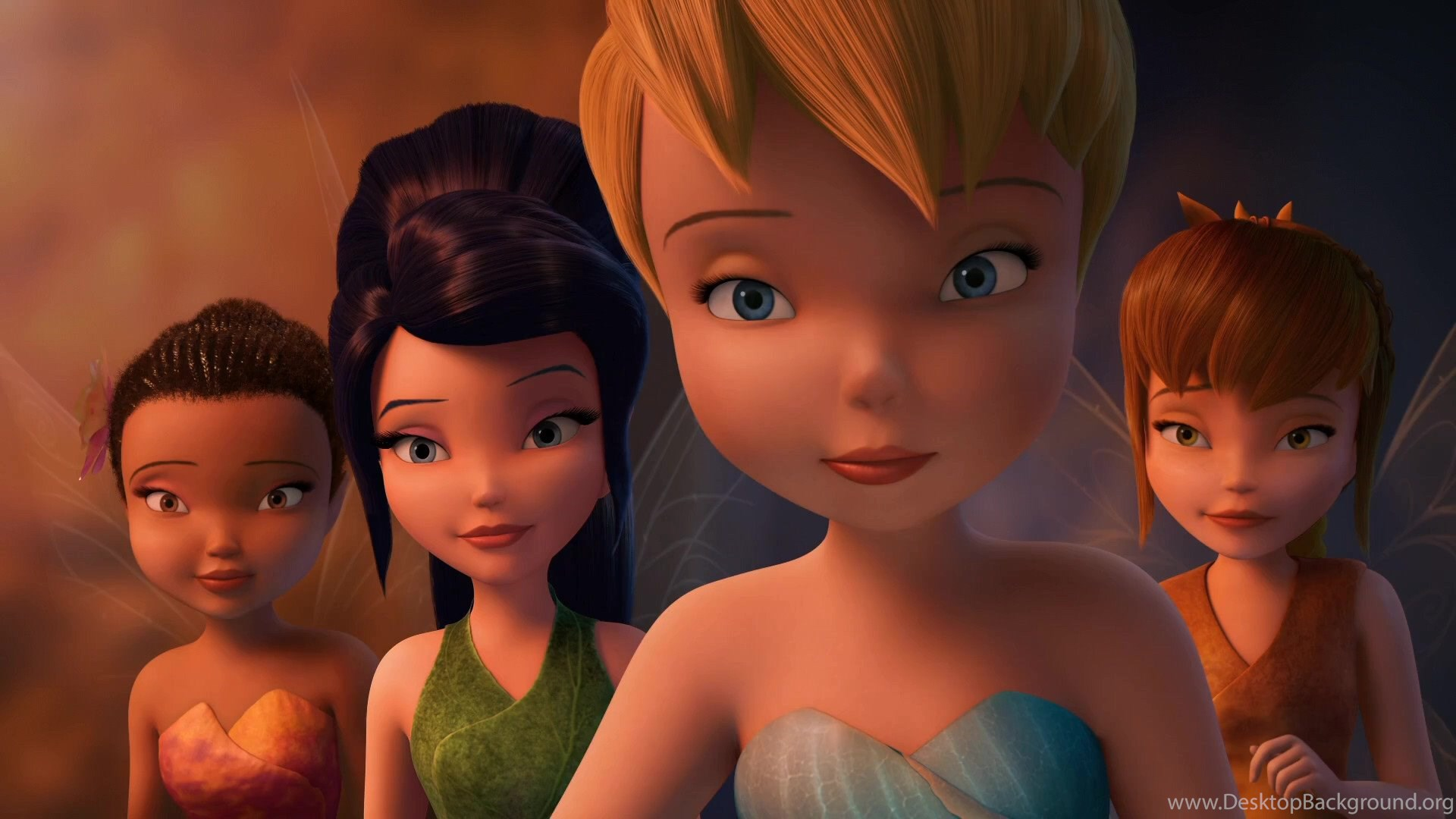tink iredessa vidia and fawn tinkerbell wallpapers