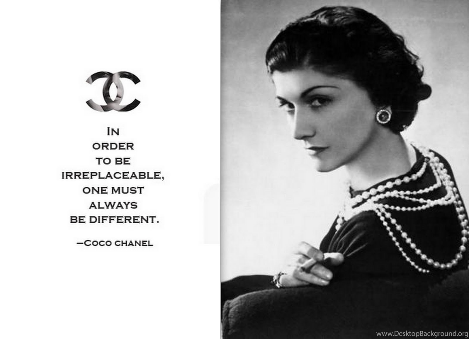 Coco Chanel Quotes 22 Wallpapers Quotefancy Desktop Background