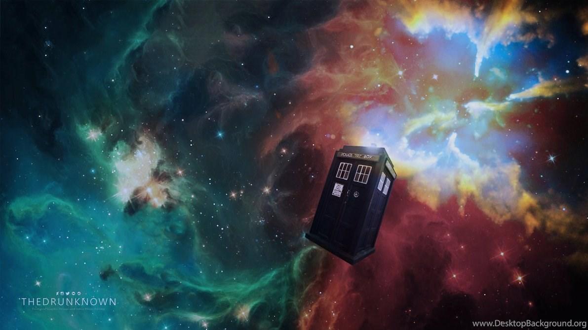 Doctor Who Desktop Wallpaper Hd: Doctor Who TARDIS Meets Deep Space [WALLPAPER] By