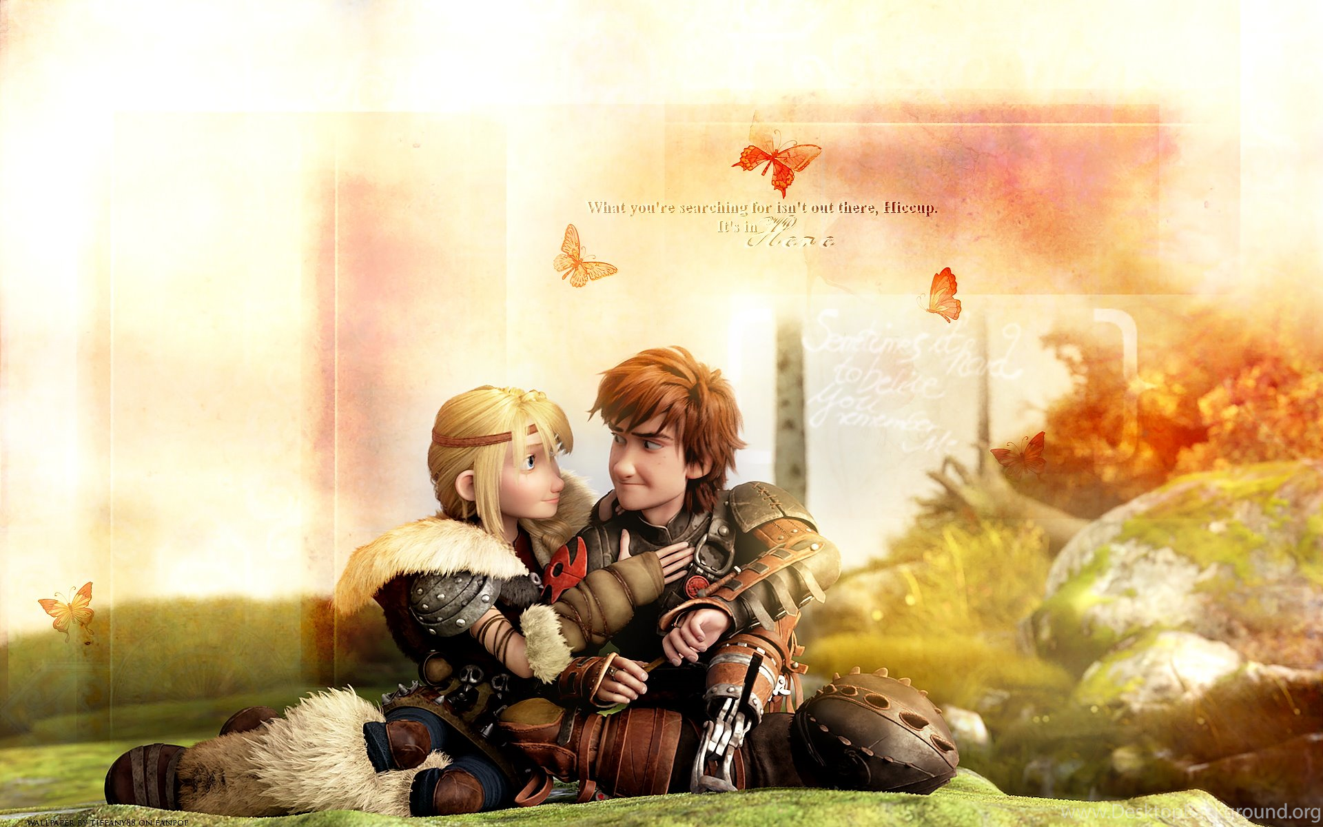 Astrid And Hiccup HQ Wallpapers How To Train Your Dragon Desktop