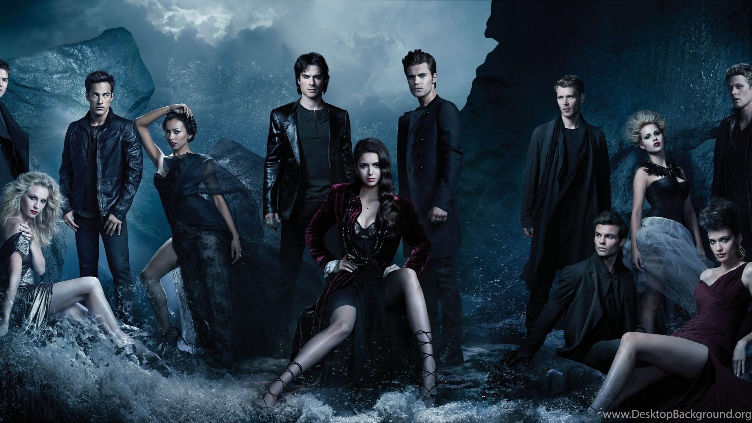 The Vampire Diaries Elena Gilbert Paul Wesley Ian Somerhalder