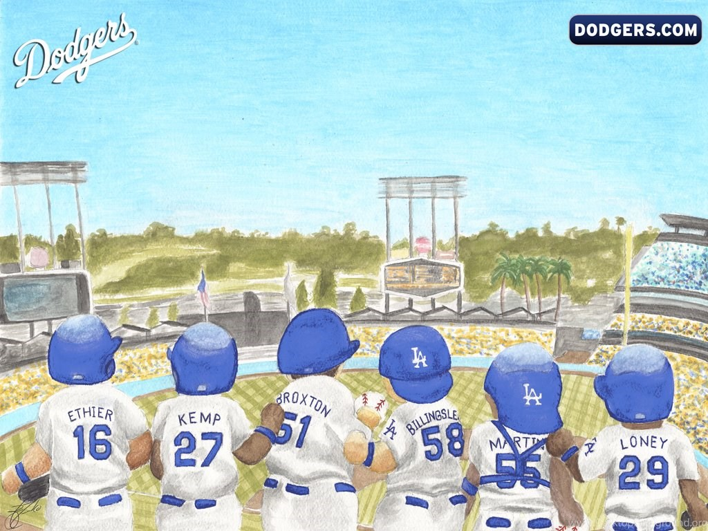 Los Angeles Dodgers La Dodgers Wallpapers Desktop Johnywheels Desktop Background