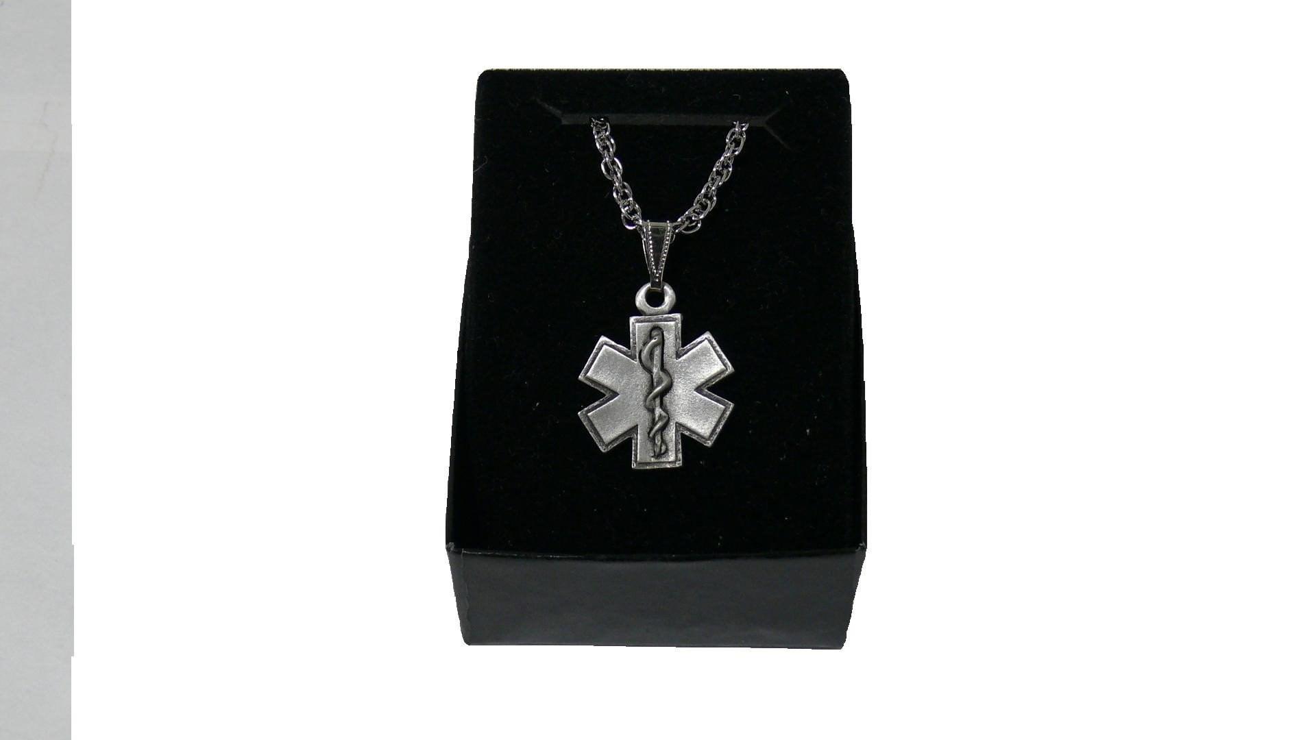 Star Of Life Necklace Jewellery Paramedics