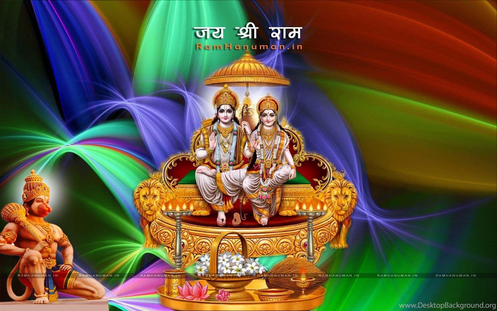 Download Lord Hanuman Shri Ram HD Wallpapers Darbar
