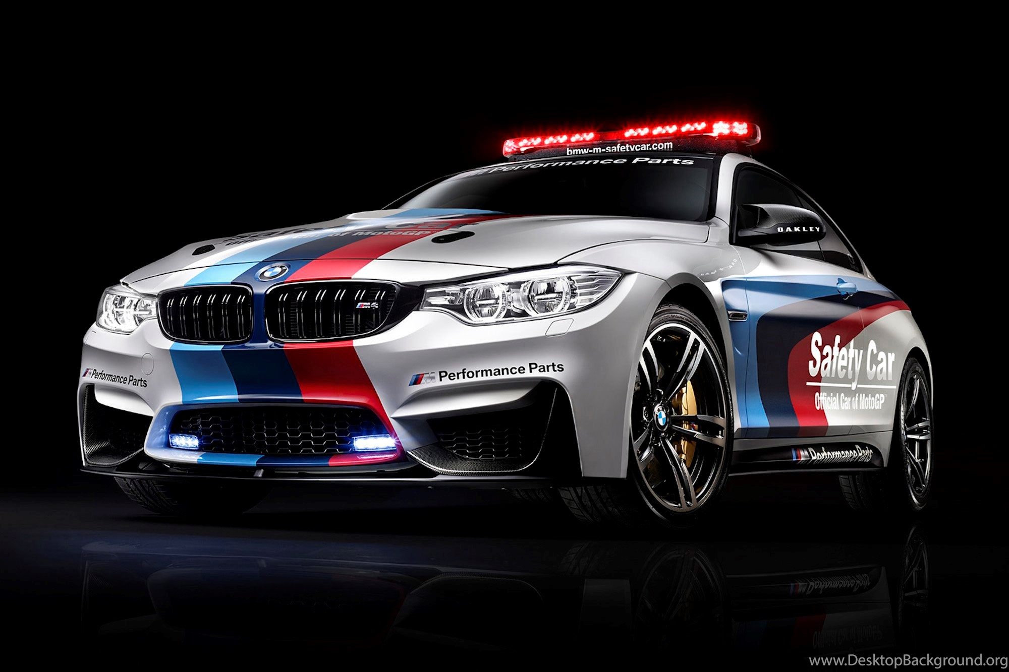 2014 BMW M4 Coupe MotoGP Safety Car Wallpapers Desktop Background