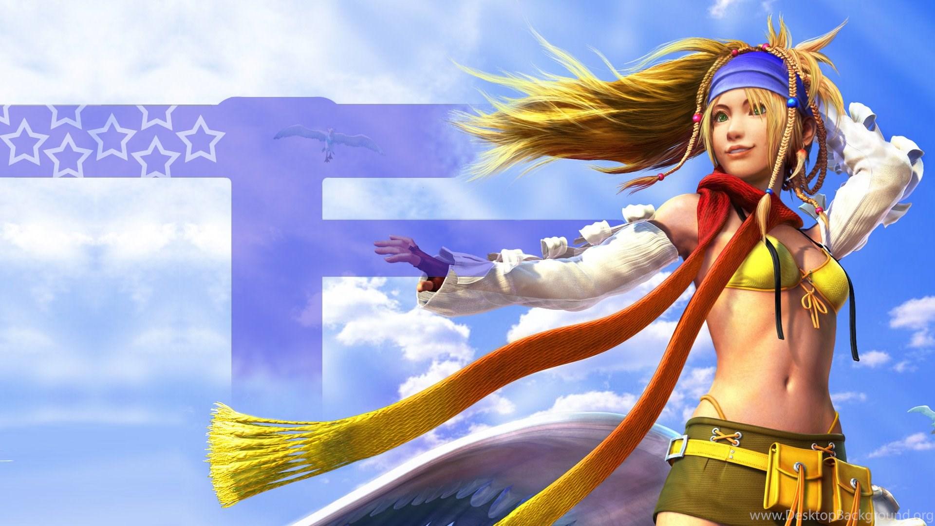 Final Fantasy X 2 Wallpapers Rikku Desktop Background
