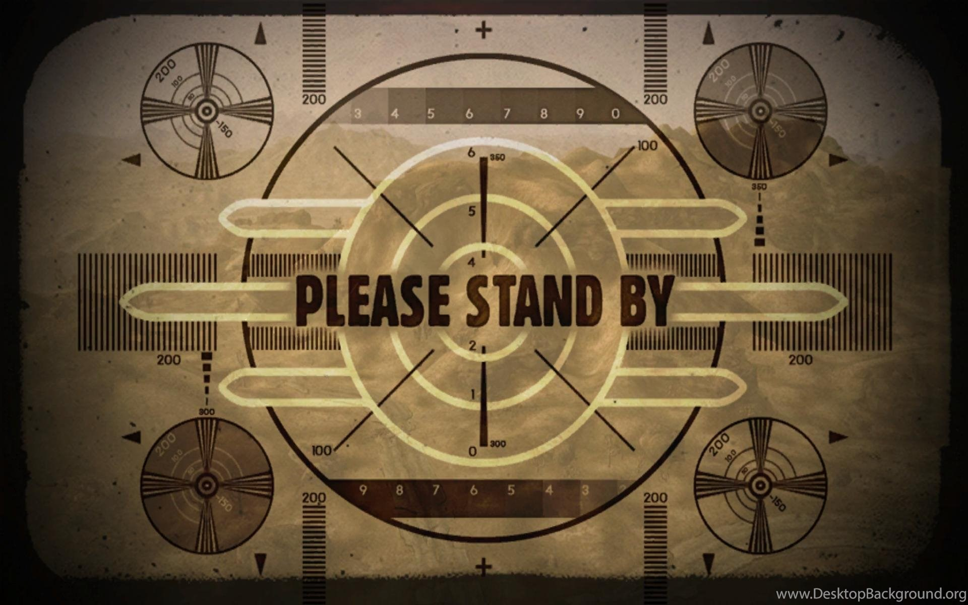 Fallout Wallpapers Please Stand By Wallpapers Desktop Kemecer Com