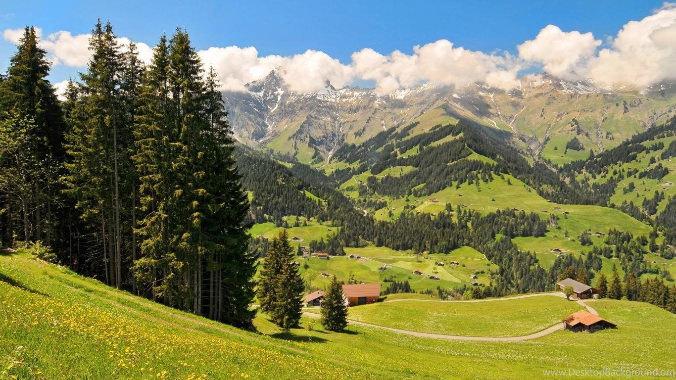 wallpapers mountain swiss alps kingdom 1366x768 desktop background