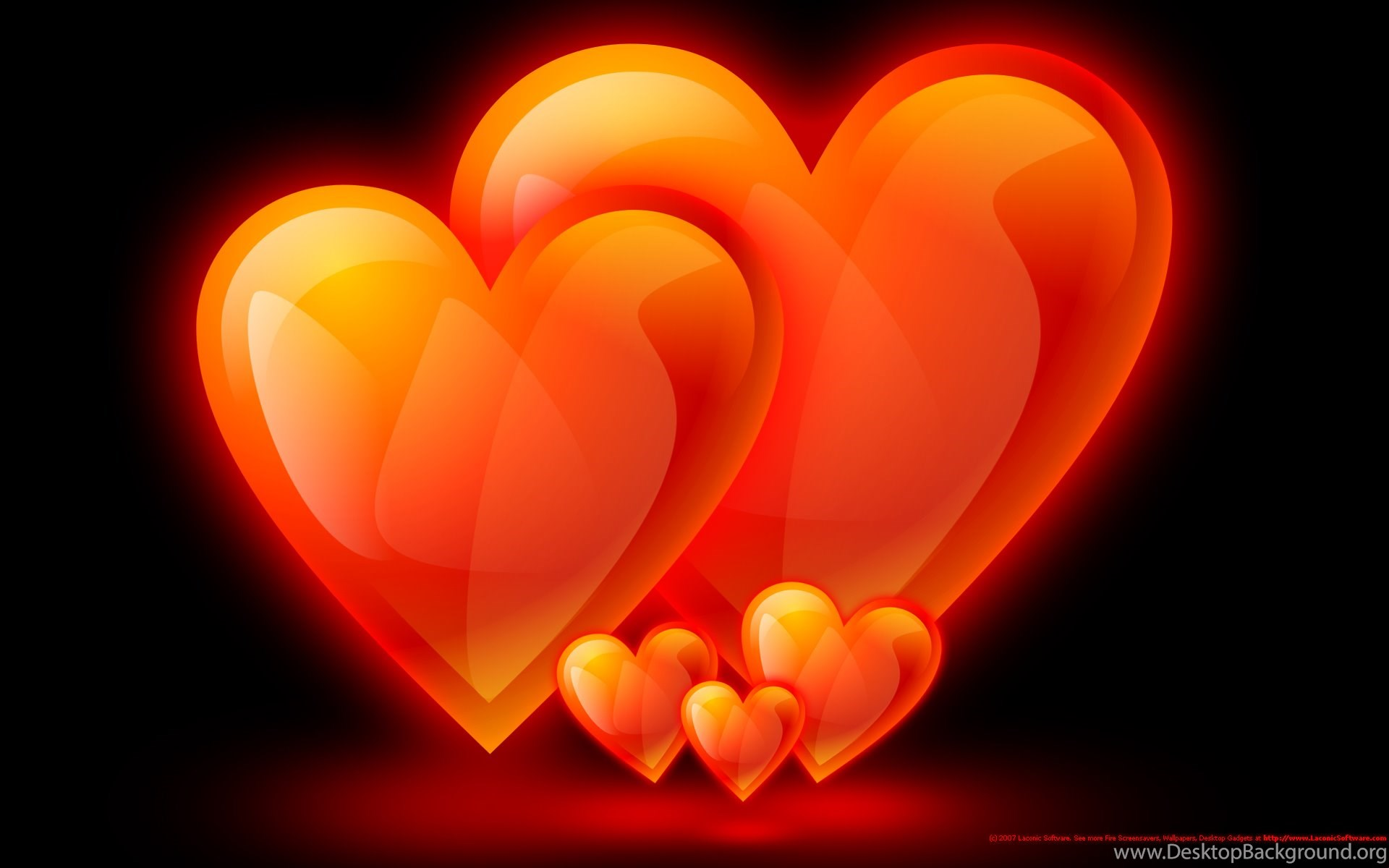 fire flame wallpaper hearts family screensavers backgrounds